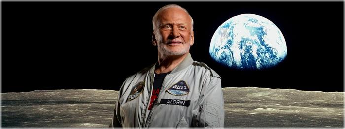 Buzz Aldrin está vindo ao Brasil e fala sobre polemicas da missão lunar