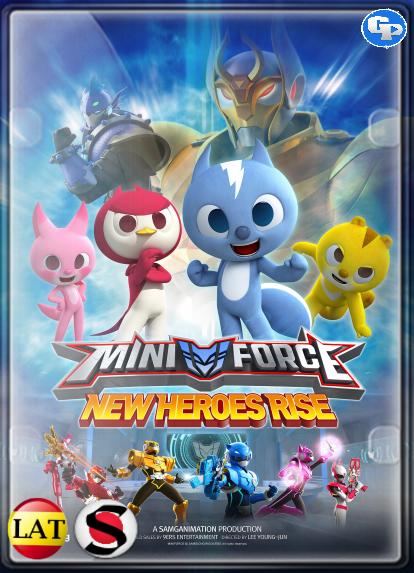 Miniforce: Los Nuevos Superhéroes (2016) HD 1080P LATINO/COREANO