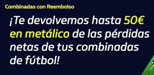 william hill Reembolso hasta 50 euros en metálico 18-20 diciembre 2020