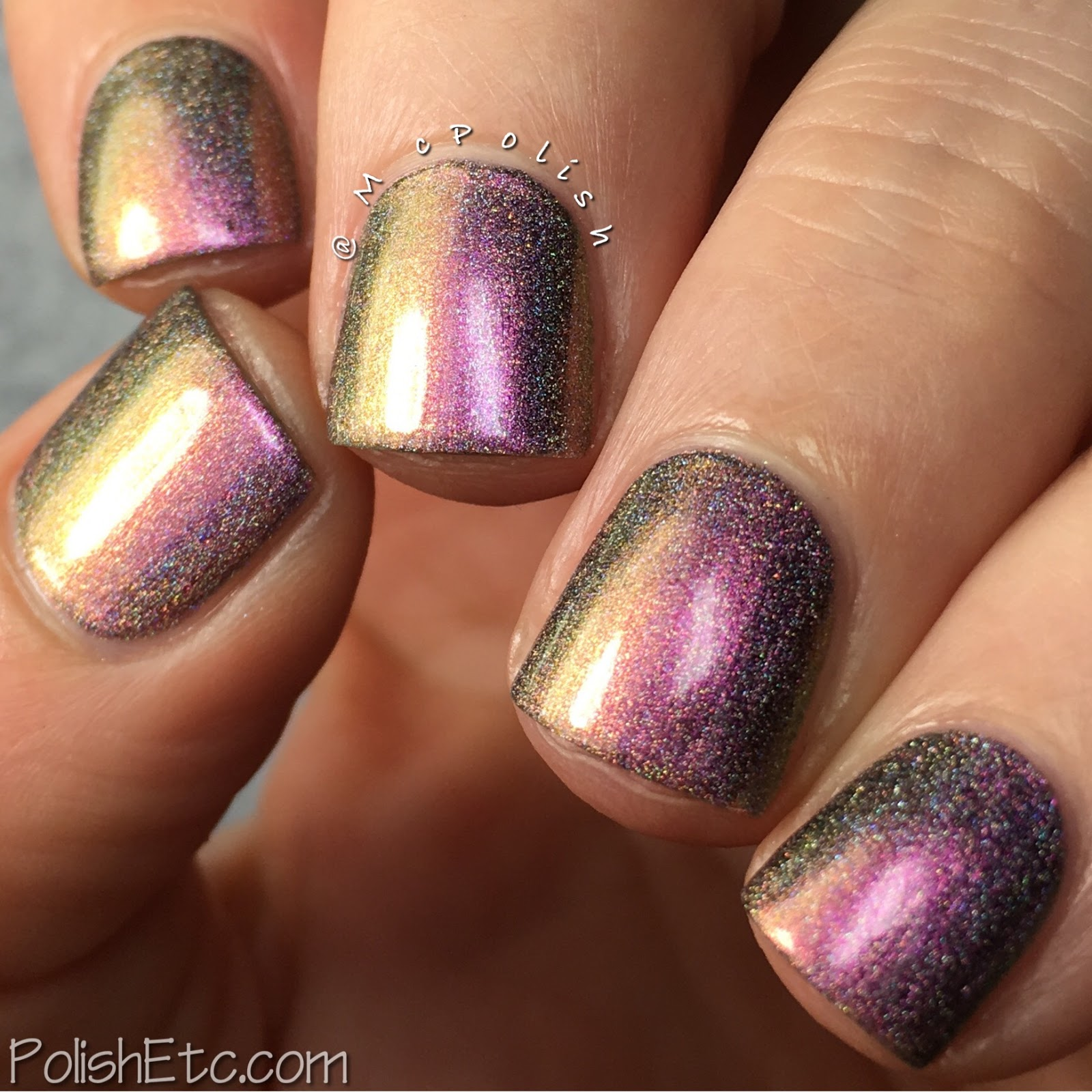 Great Lakes Lacquer - Polishing Poetic Collection - McPolish - The Centre Cannot Hold