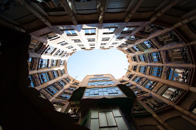 La Pedrera (Casa Milà)-Barcellona