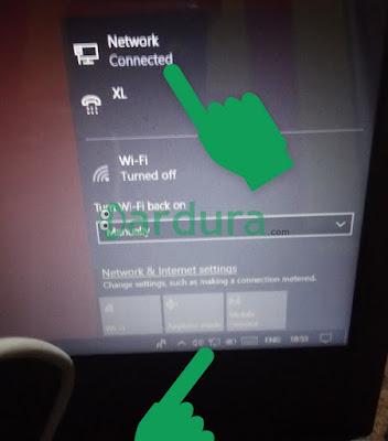 cara menyambungkan internet dari HP xiaomi ke komputer