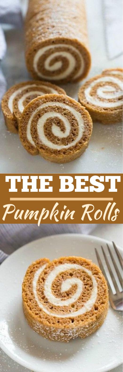 Classic Pumpkin Roll #desserts #cake