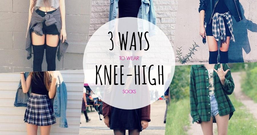 Deaddsouls 3 Ways To Wear Knee High Socks