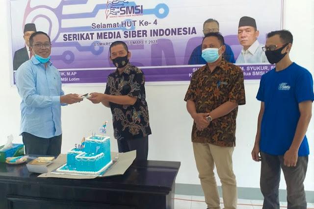 HUT ke-4, SMSI Lombok Timur bertekad meningkatkan kualitas anggota