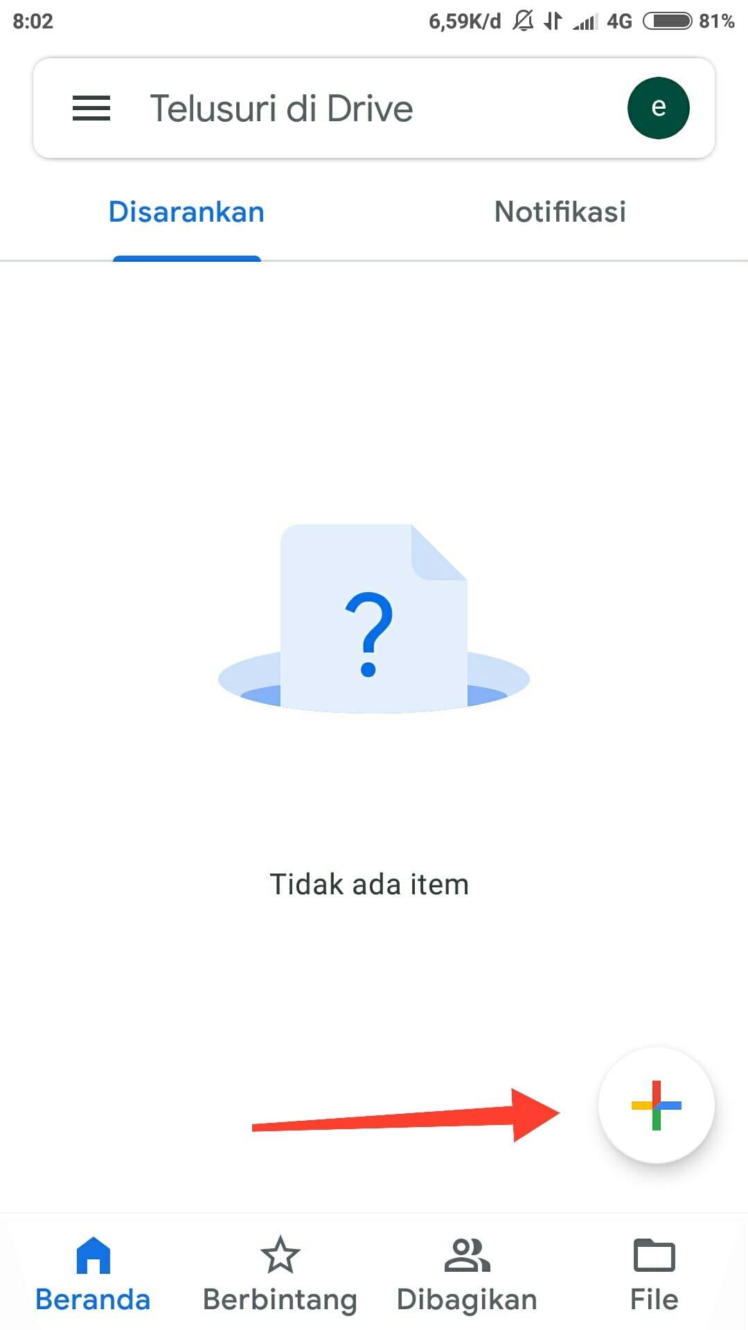 Cara Mudah Upload File di Google Drive Lewat Hp