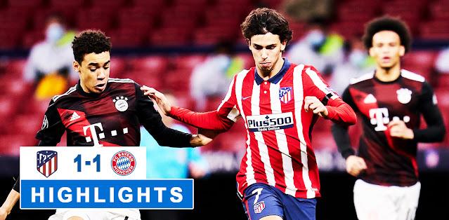Atlético Madrid vs Bayern München – Highlights