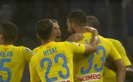 Sampdoria Napoli 0-2 highlights