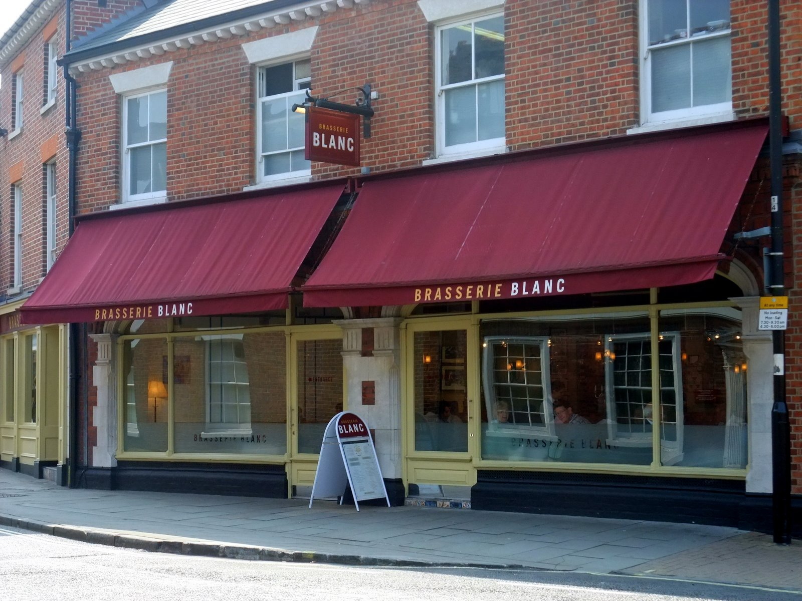 This Is One Of My Favourite Restaurants In Winchester And Always Seems To Be Por Particularly At Lunchtimes The Blanc Refers Celebrity Chef