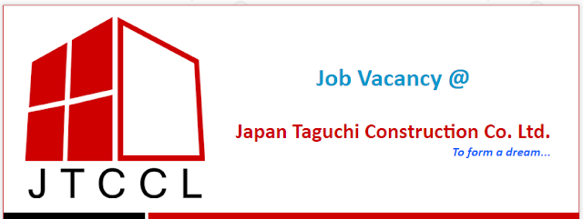 Job Vacancy in Japan Taguchi Construction Co. Ltd - job market
