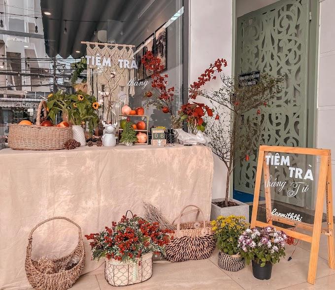 Tiệm Trà Tháng Tư - Tiệm trà trái cây ngon Sài Gòn