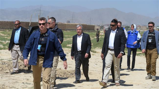 War in Afghanistan has no military solution: United Nations Secretary General Antonio Guterres