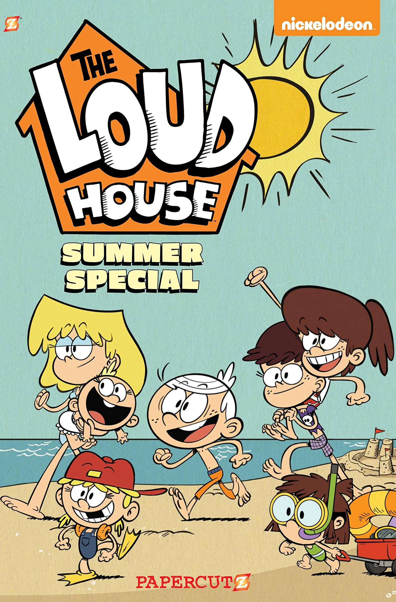 Nickalive Papercutz To Release The Loud House Summer Special Graphic Novel During On Tuesday June 1 2021