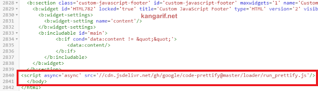 Cara Mempercantik Tampilan Code Snippet di Blogger