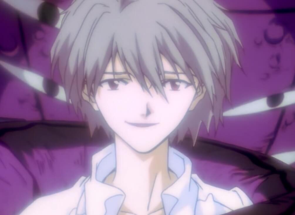 Kaworu Nagisa of neon genesis evangelion