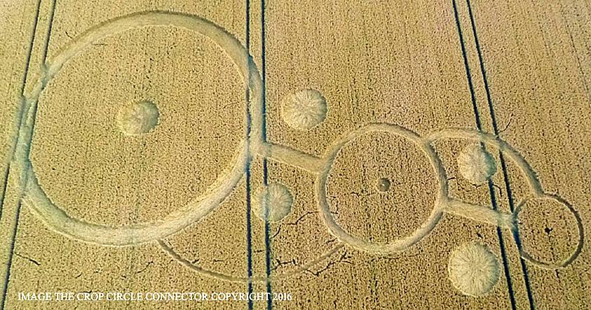 Wiltshire: Nuevamente escenario de un impresionante crop circle