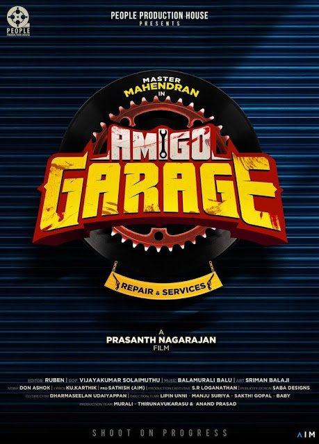 Amigo Garage 2022 Tamil Movie Star Cast and Crew - Here is the Tamil movie Amigo Garage 2022 wiki, full star cast, Release date, Song name, photo, poster, trailer.
