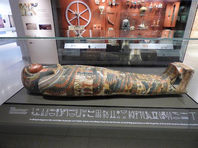 The Ashmolean Museum, the mummies