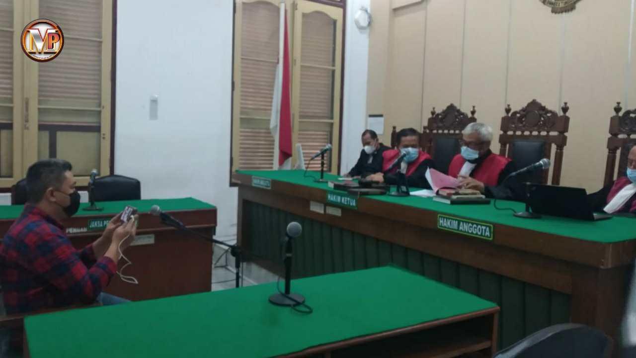 Tak Ditahan, Kasiman Selaku Operator Judi Online Akui Keterangan Saksi
