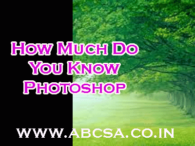 photo shop online question and answers by abcsa