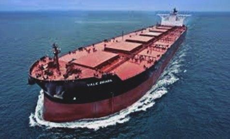 Kapal terbesar MS Vale Brazil