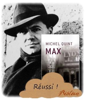 Max Jean Moulin Michel Quint Résistance roman avis critique chronique blog littéraire