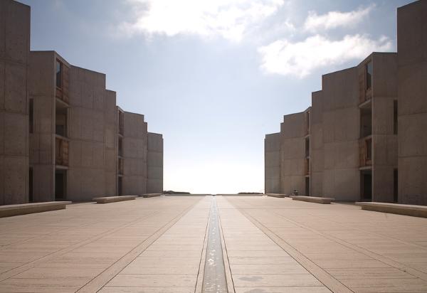 Salk Institute-architettura-Louis Kahn