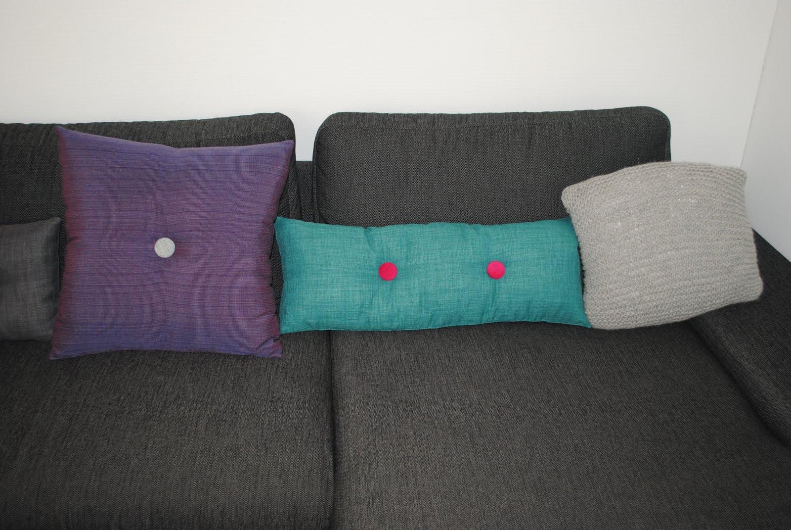 Julies kreahule: Nye sofapuder i Hay-stilen