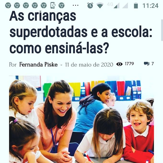 A escola consegue atender as altas habilidades dos superdotados?