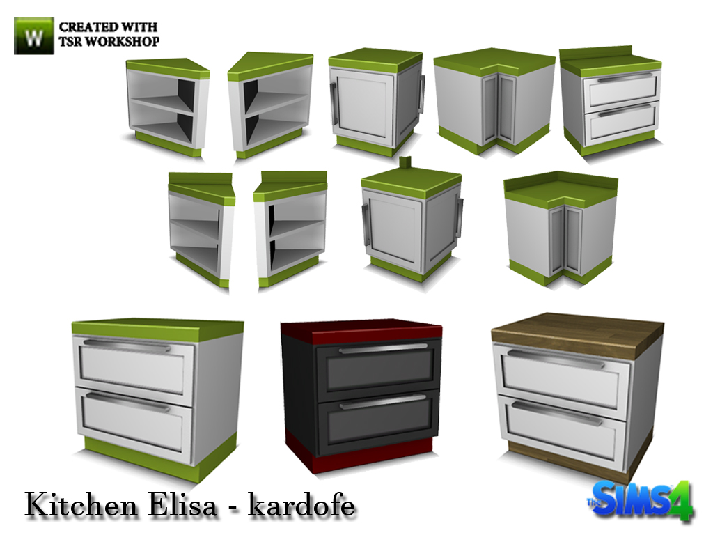 Sims 4 Kitchen Curtains