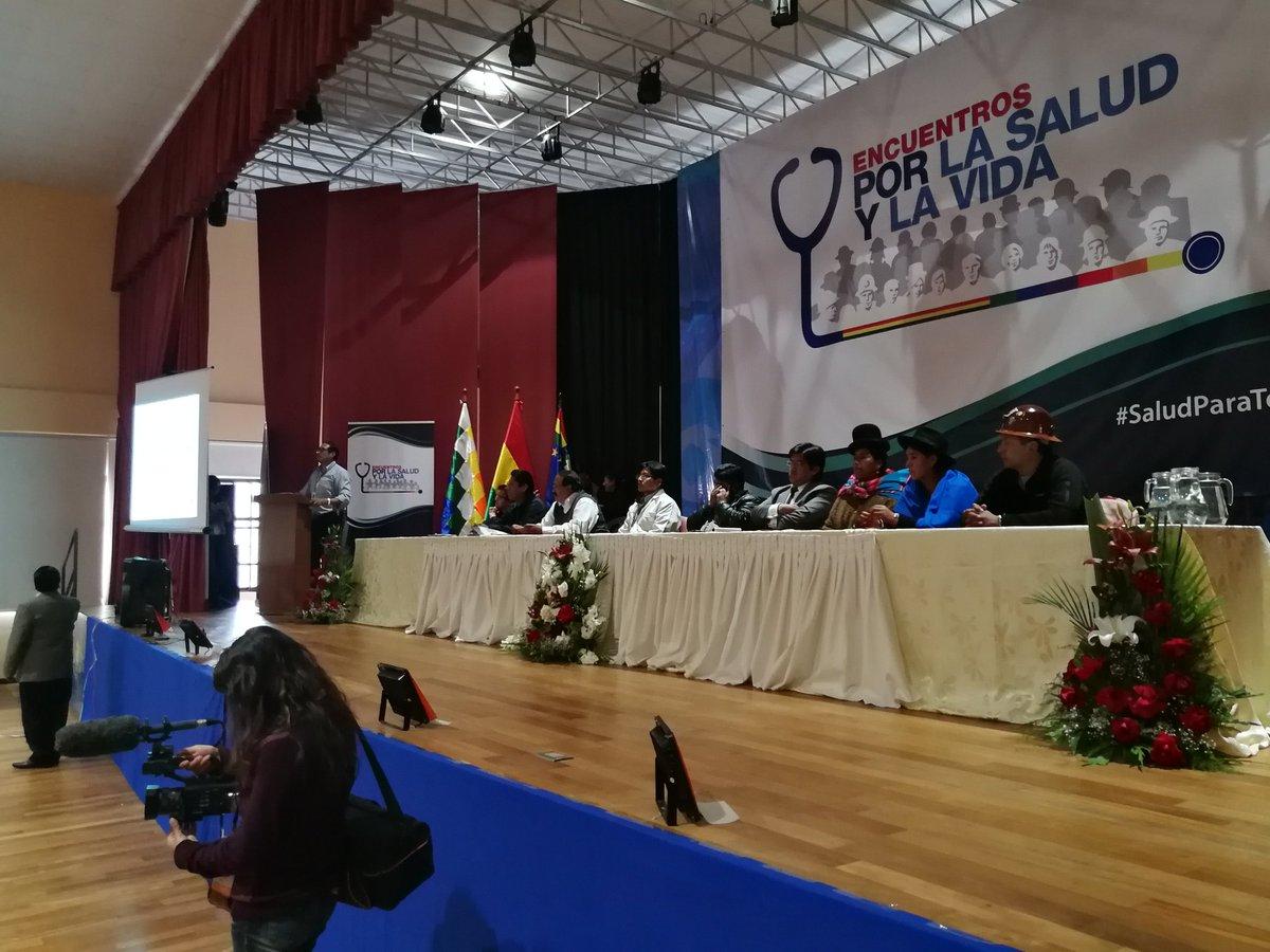 Los Encuentros por la Salud y por la Vida ya pasaron por Oruro y La Paz / MINISTERIO DE SALUD