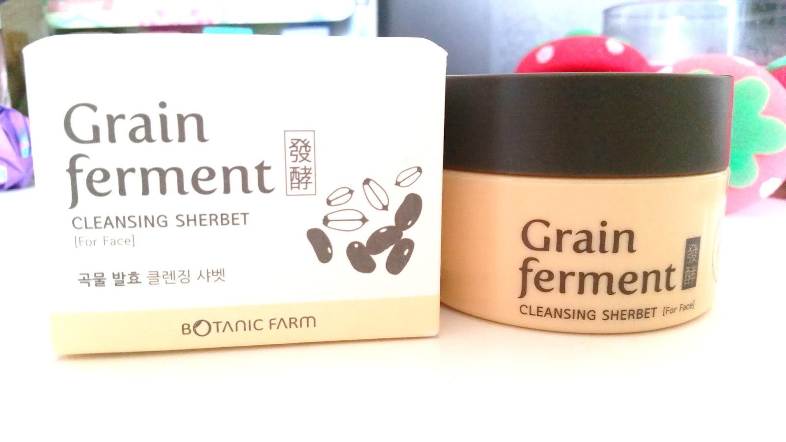 Good Botanic Farm Grain Ferment Cleansing Sherbet Review