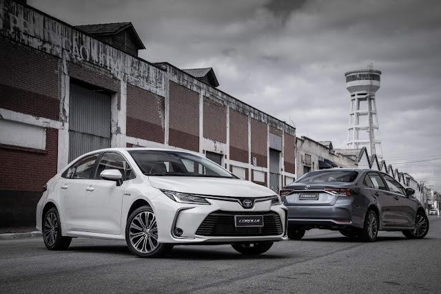 Novo Corolla 2020 obtém 5 estrelas no Latin NCAP