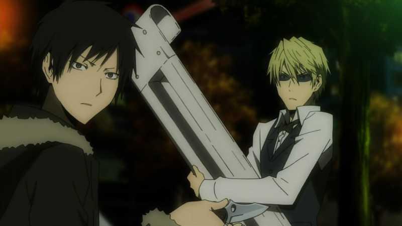 Durarara!!, Anime mirip Death Note