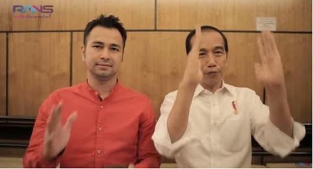 Isu Reshuffle, Raffi Ahmad Dijagokan Jadi Menteri Baru Kabinet Jokowi