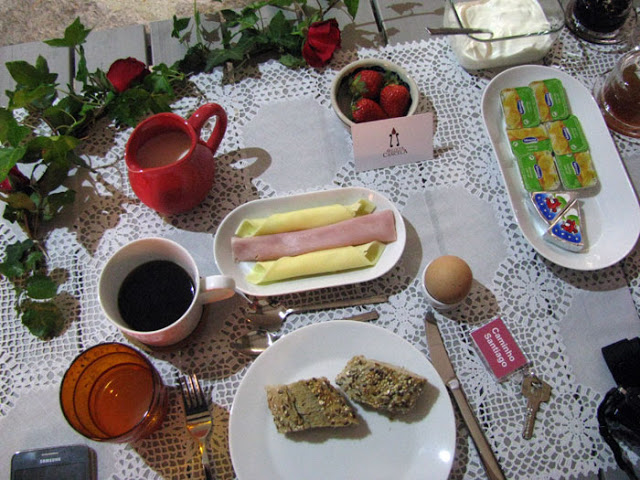 Alimentação no Caminho de Santiago de Compostela