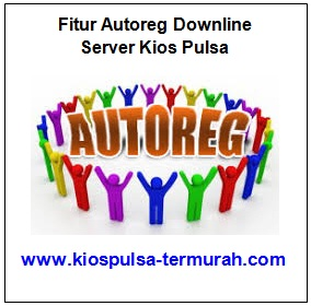 Autoreg Downline Server Kios Pulsa