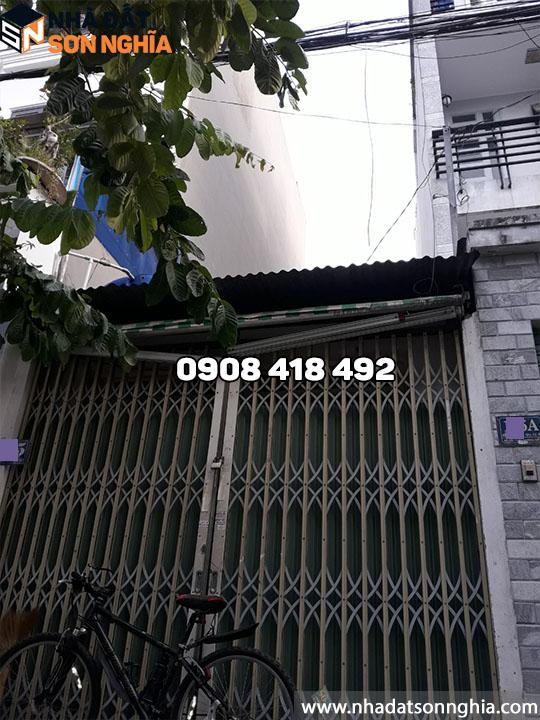 Nhà cấp 4 mặt tiền đường số 9 phường 9 quận Gò Vấp