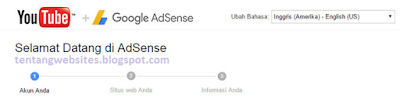 Cara mendapatkan uang dari youtube adsense