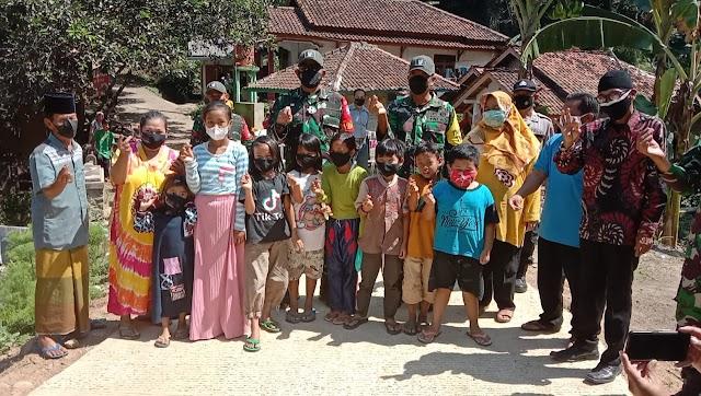 Tim Wasev Mabes TNI AD Tinjau Lokasi TMMD Ke-111 Di Kab. Cianjur