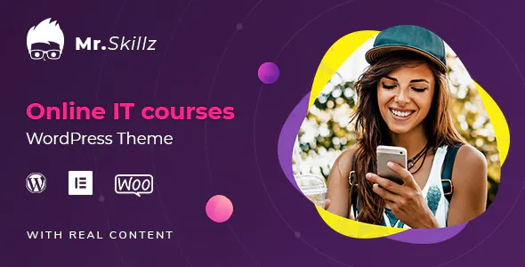 Best IT Online Courses Premium WordPress theme
