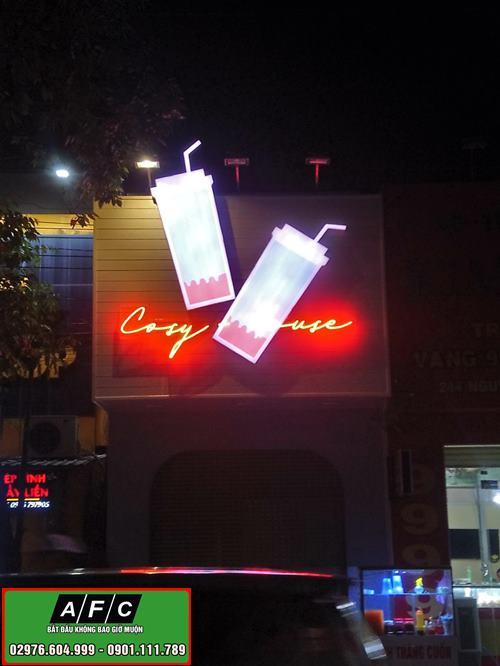 Làm bảng hiệu quảng cáo Covy House Phú Quốc