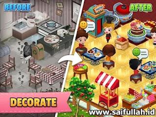 Cafeland - World Kitchen Mod v2.0.33 Apk Terbaru Unlimited Money