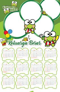Download Template Kalender 2021 CDR, PDF, PSD, JPG, PNG Hijriyah, Jawa dan Libur Nasional