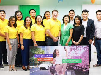 How to earn GetGo points for free flights using the Grab app