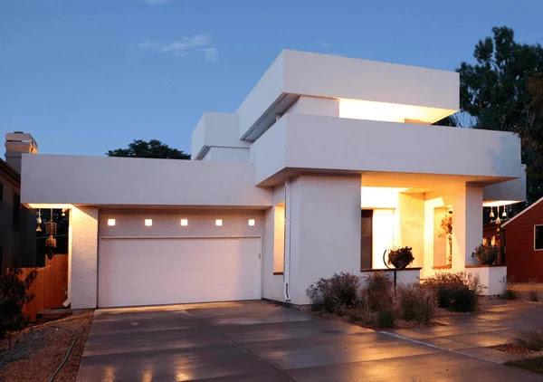 Model Rumah dengan Garasi di Samping