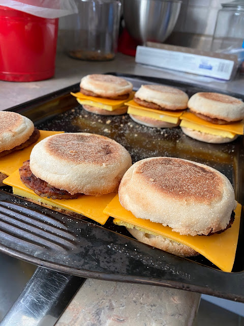 Make Ahead Egg Muffin Sandwiches