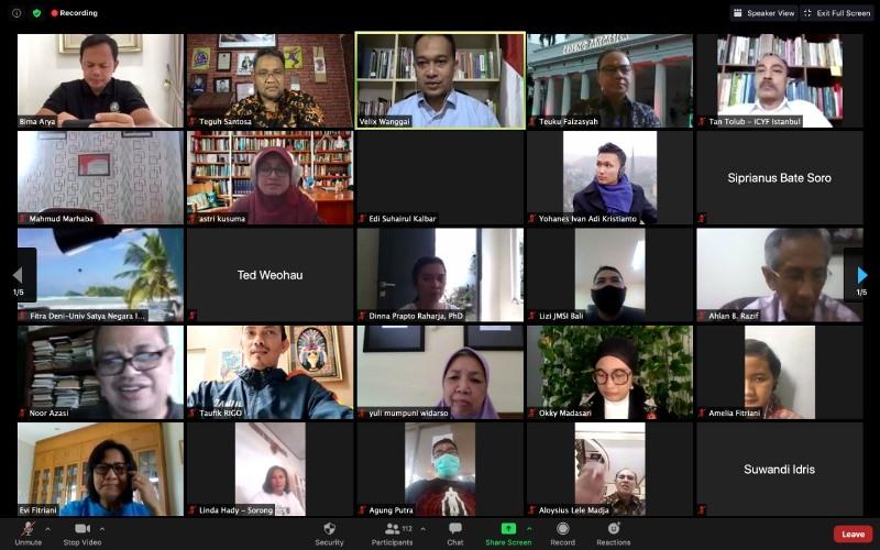 Ketum JMSI Soroti Praktik Jurnalisme Yang Gunakan Combative Lens Dalam Forum Diplomasi Indonesia