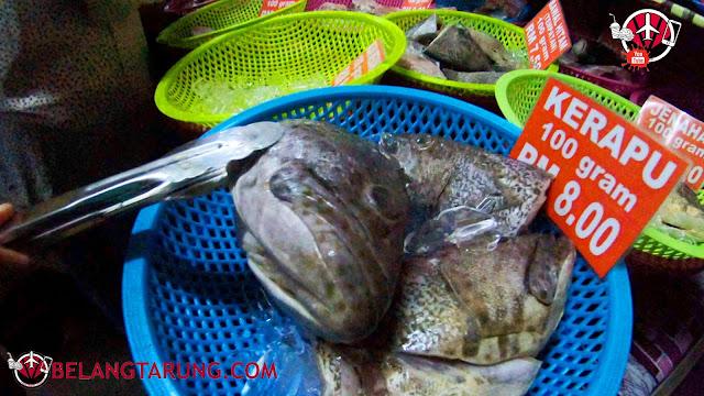Kepala Ikan Kerapu Halim Gulai Panas