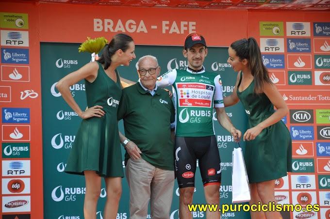 Vicente García de Mateos tiene el maillot verde pero quiere el amarillo